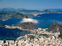 Rio from Corcovado Mountain