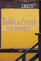 table & counter service