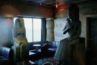 Statues in Cleopatra's Club