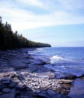 North Shore of Drummond Island