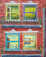 Brownstone Window's on the World!