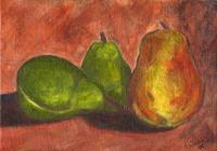 Impressionistic Pears
