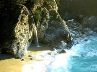 Waterfall At Julia Pfeiffer Burns State Park ~ Big