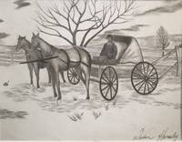 HORSE AND CARRIAGE print