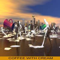 CoffeeWithCream Art Prints & Posters by Williem McWhorter