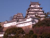 view of Himeji Castle
