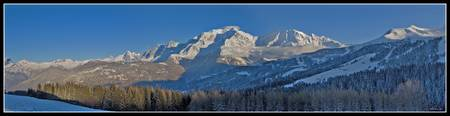 Le Mont Blanc in Wide Sight