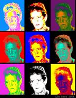 LOU REED AS POP ART