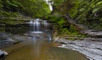 Summer Dream: Buttermilk Falls by Michael Stephen Wills