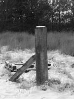 Winter Fencepost