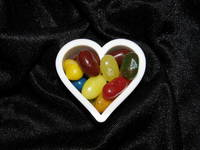 Small Jelly Bean Heart