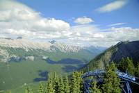 From Sulphur Mountain, High Rockies,1993 7