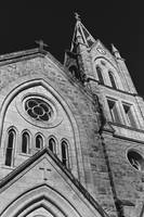 Historic Cathedral: Black and White