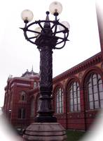 Washington D.C. Smithsonian lamp