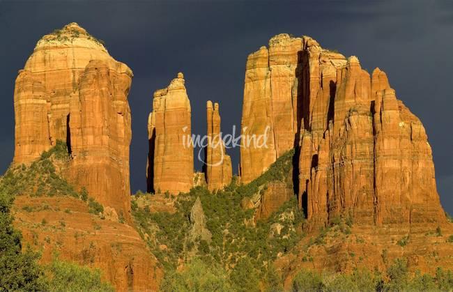 Sunset on Cathedral Rock, Sedona, Arizona