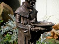 St Francis & friend