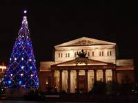 Bolshoi Theater Christmas Time
