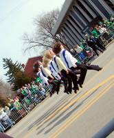 . Irish dancers .