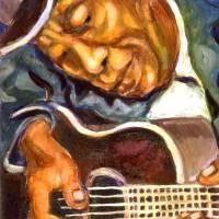Guitarman by Faye Cummings