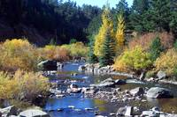 The Big Thompson River of Colorado
