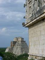 Uxmal Pyramid + Governor's Palace