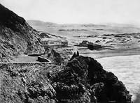 Seal Rock House from Cliff house 1865, San Francis by WorldWide Archive