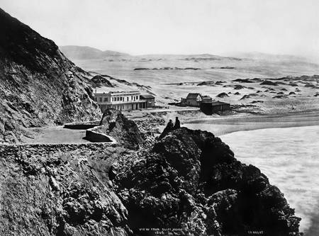 Seal Rock House from Cliff house 1865, San Francis