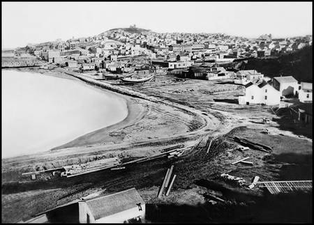 North Beach from Telegraph Hill, c1865 San Francis