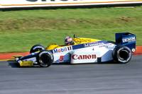 Nigel Mansell Williams fw10 honda brands hatch 198
