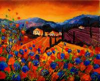 tuscany poppies 45