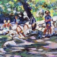 By the Creek by Faye Cummings