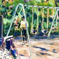 Swings by Faye Cummings
