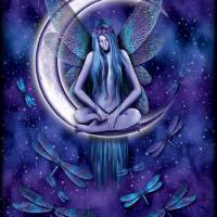 Moon Fairy Nude Art Prints & Posters by Michael McGloin