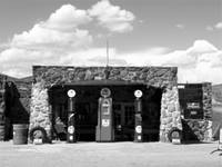 Arizona Gas Station Blk Wht