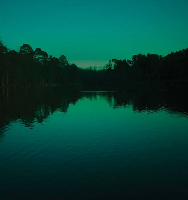 Raw Lake Green