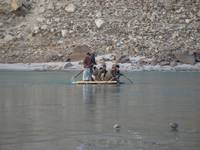 Journey at Indus river near Skardu