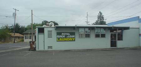 Launderette, St Helens, Oregon, USA