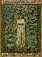 Flora - Burne-Jones, William Morris