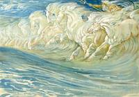 Study for The Horses of Neptune - Walter Crane