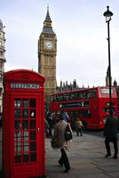 London Icon::Telephone Booth, Double Decker Bus, B
