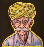 Old Man In Turban