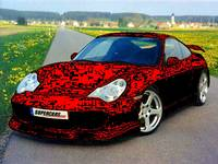 porche matrix car desighn