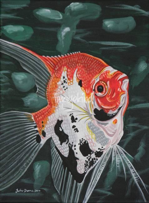 Koi Angelfish   Koi Angelfish By Julie Deans