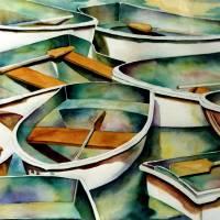 """""""Barcelona Boats"""" by MichaelEberhardt"""