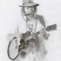"""Neil Young"" by Branbuds"