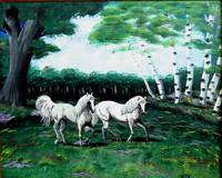 unicorns in meadow 1994