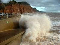 Sidmouth storm 15/01/08
