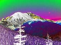 Painted Mt Rainer