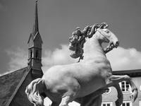 Horse and Steeple