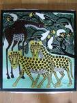leopards and geraffe